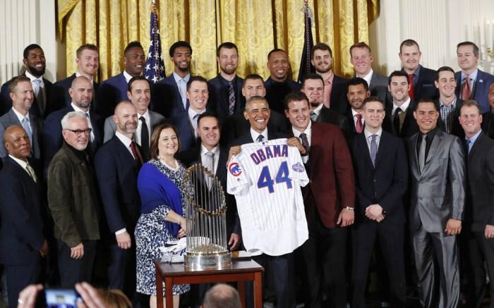 Barack Obama Chicago Cubs