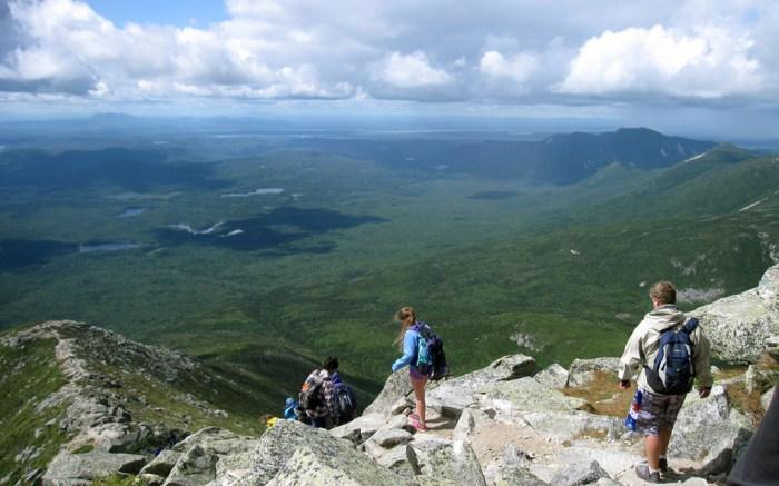 Appalachian Trail Mount Katahdin Baxter State Park Maine