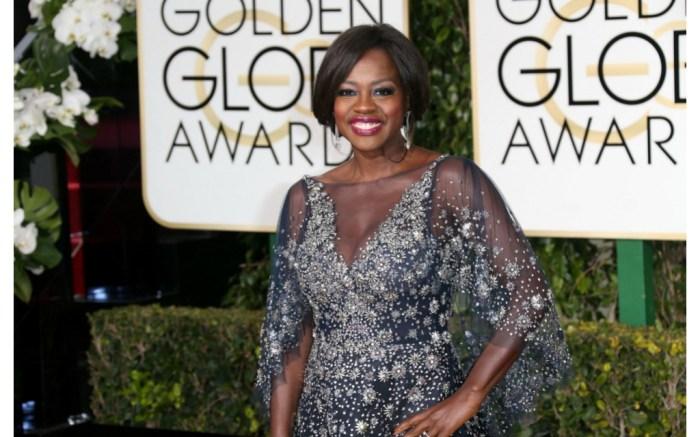 Viola Davis at the 2016 Golden Globe Awards.