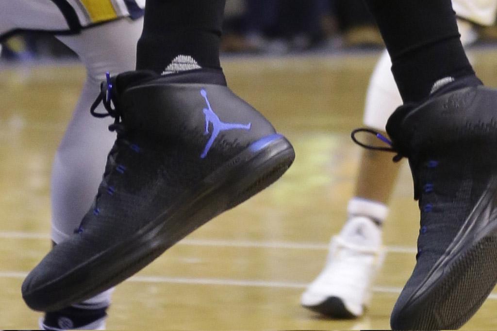 Bismack Biyombo's Air Jordan XXXI