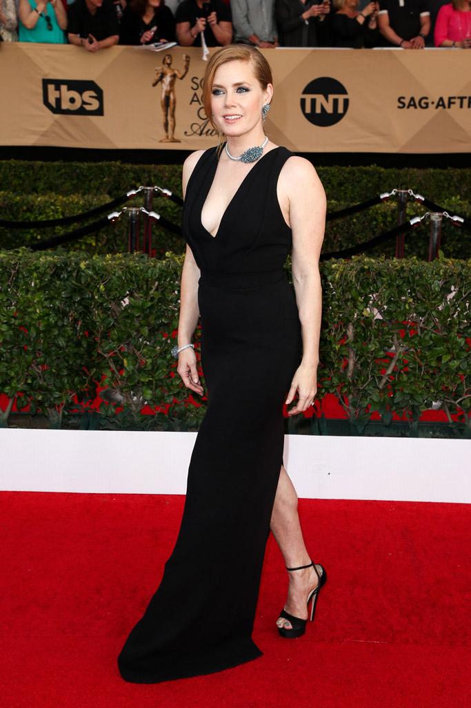 Amy Adams SAG Awards Red Carpet Shoes