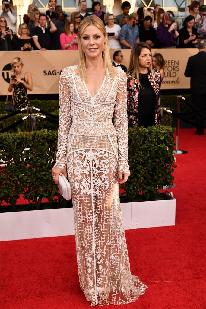 Julie Bowen SAG Awards Red Carpet Shoes
