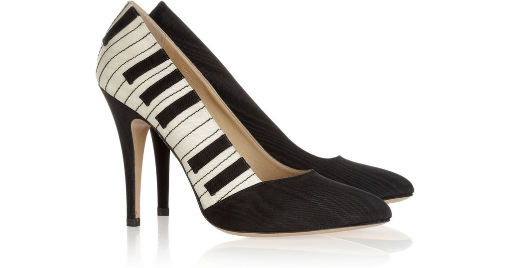 Charlotte Olympia piano pumps