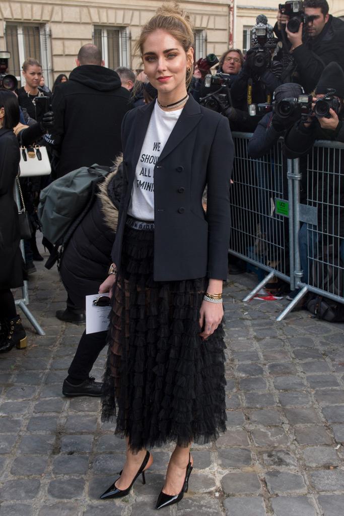 Chiara Ferragni Dior Couture