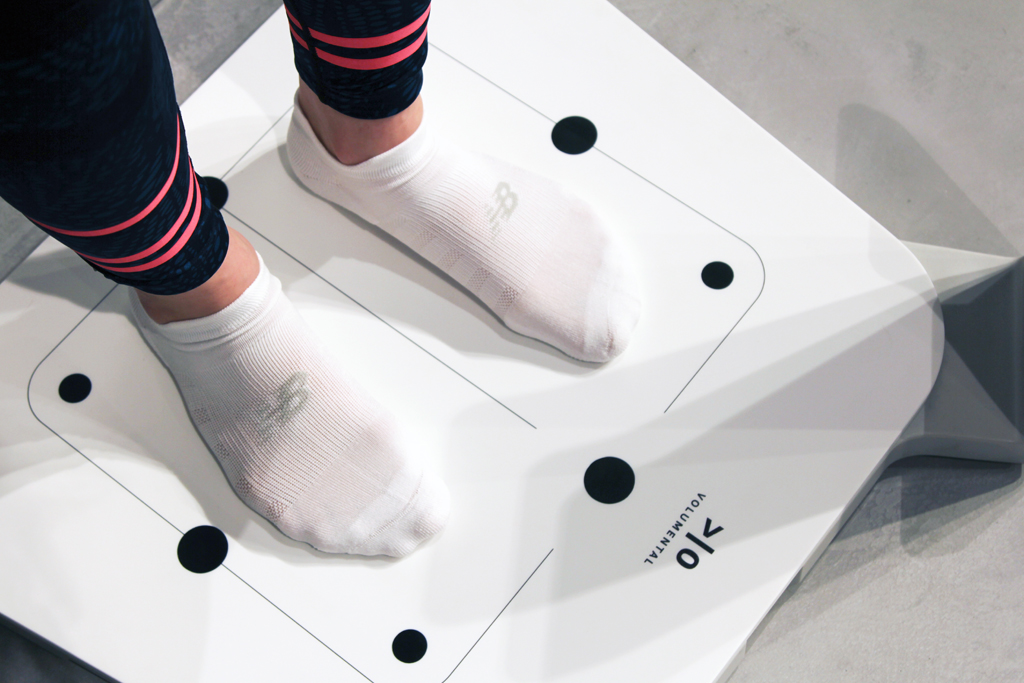 Volumental Foot Scanner