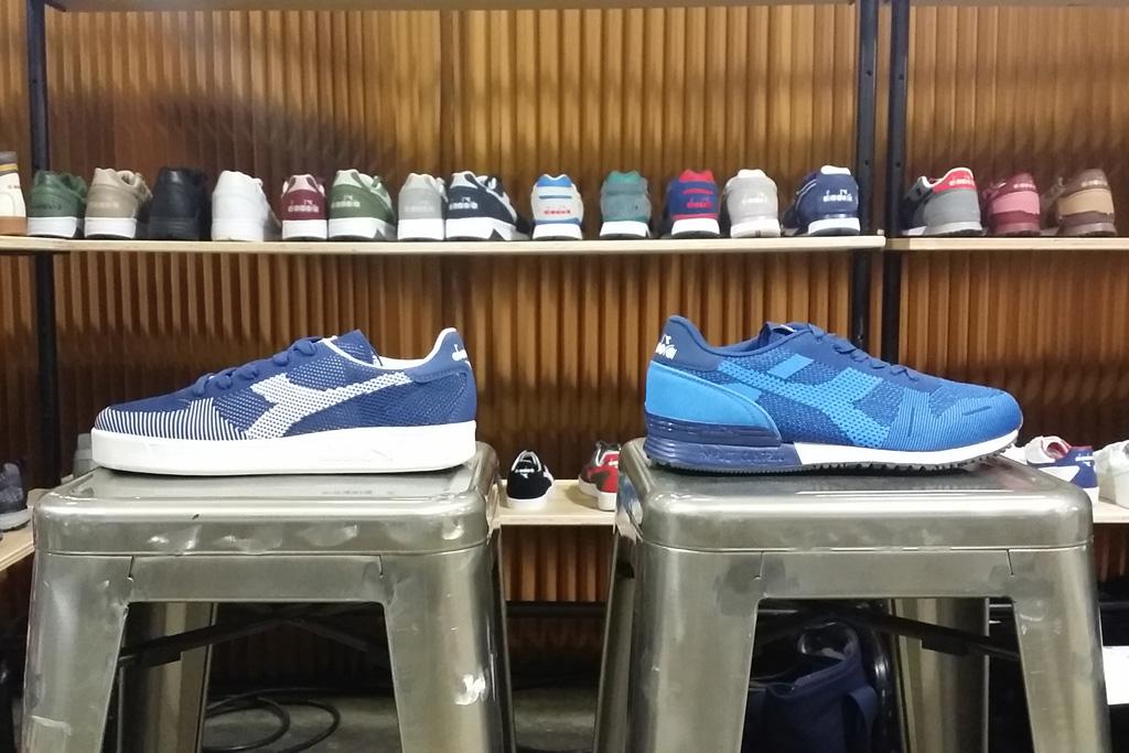 Diadora Sportswear B.Elite and Titan Weave