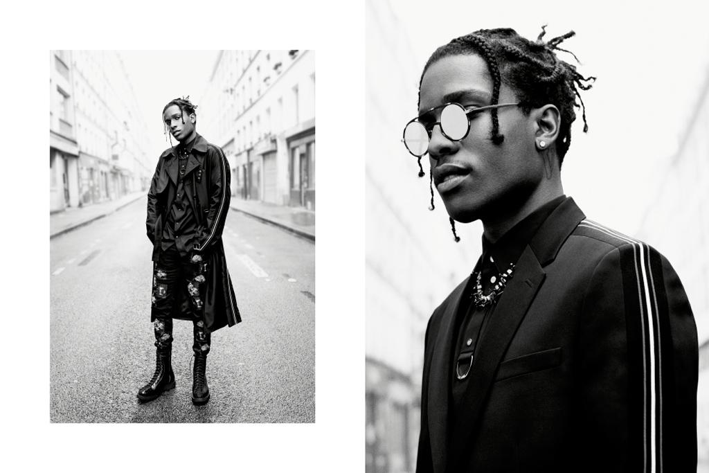 A$AP Rocky Dior Ad Campaign