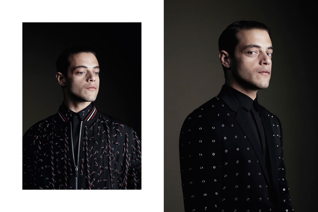 Rami Malek Dior Ad Campaign