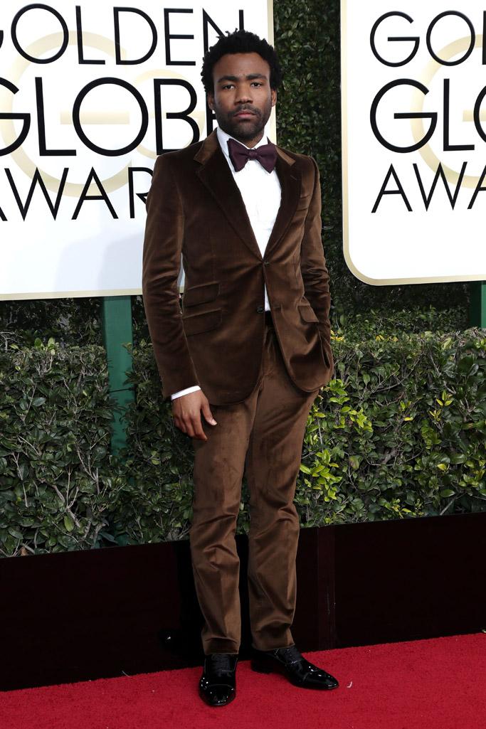 Donald Glover 2017 Golden Globes