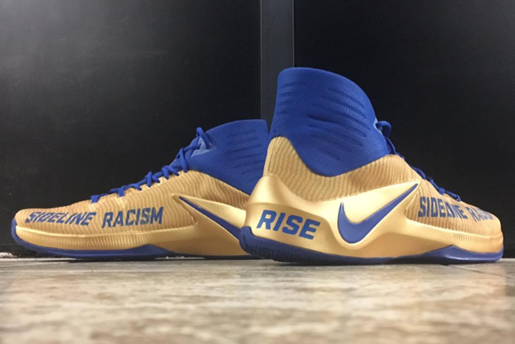 Draymond Green Custom Sideline Racism Sneakers Mache