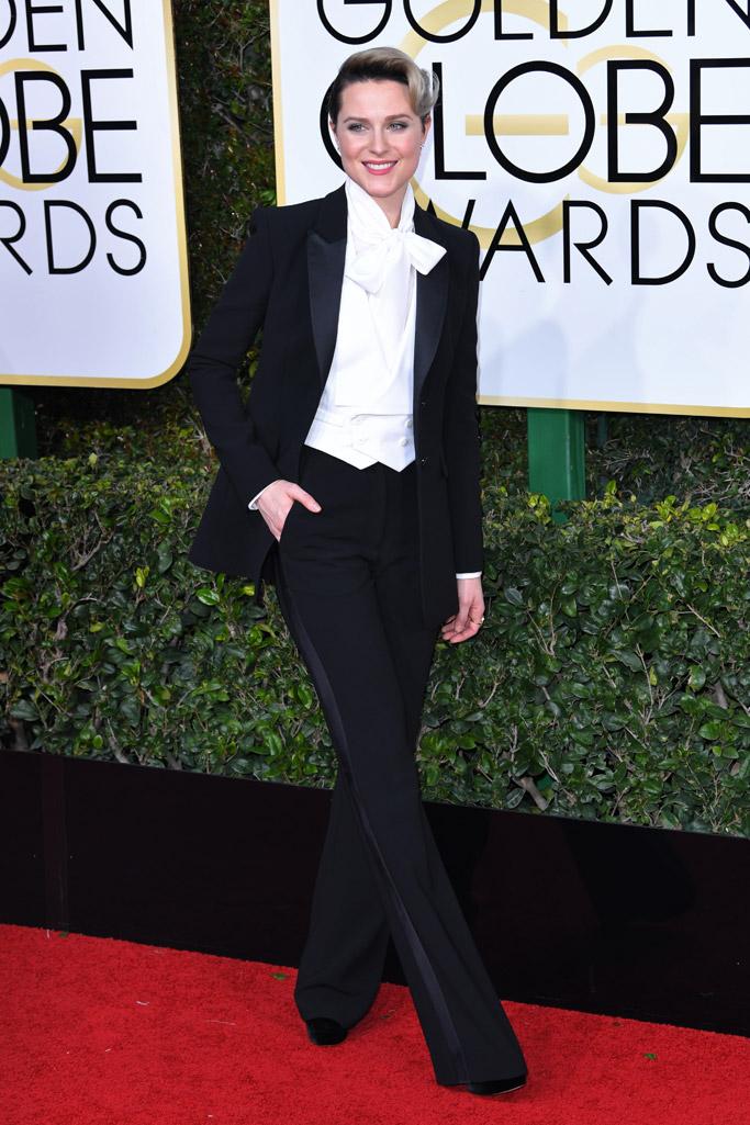 Evan Rachel Wood 2017 Golden Globes