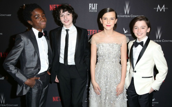 """Stranger Things"" cast"