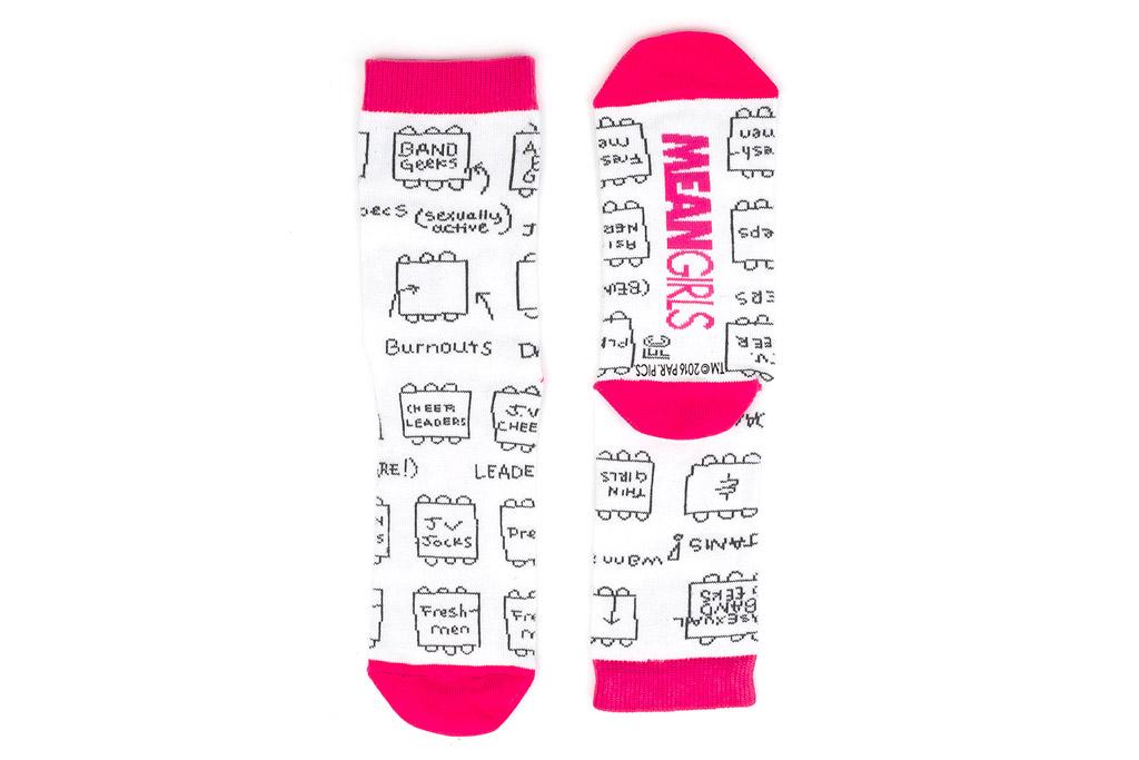 Mean Girls Socks Foot Cardigan