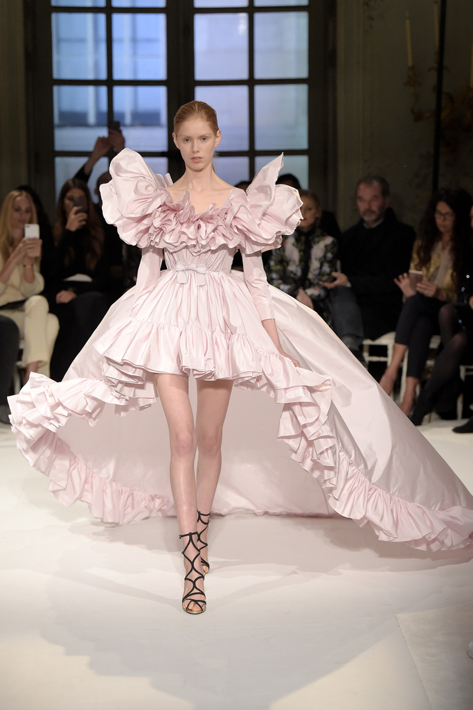 Giambattista Valli spring '17 couture collection.