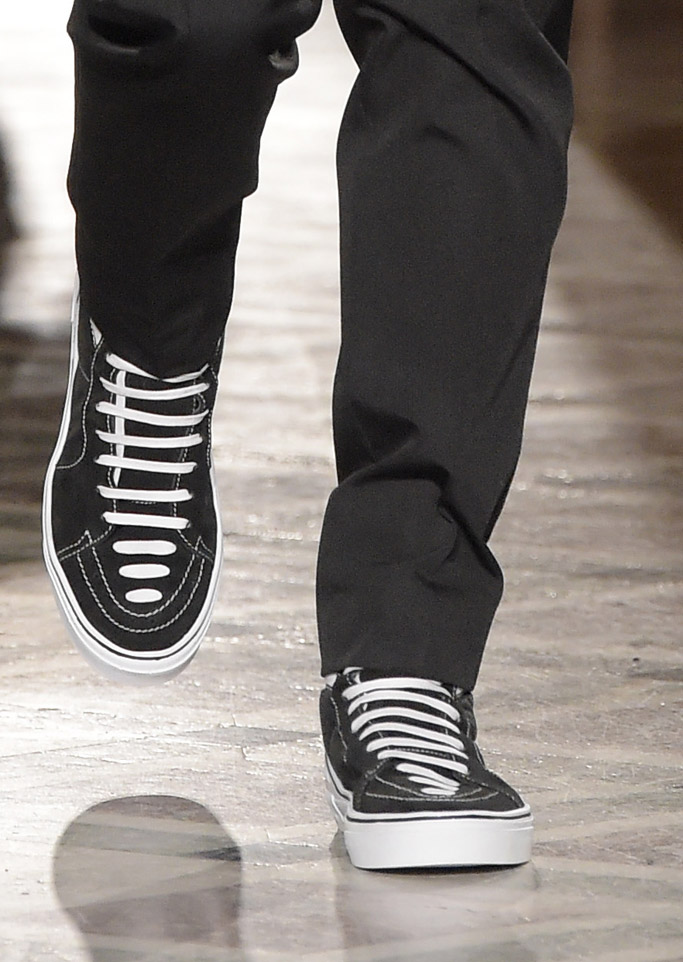 givenchy fall paris fashion week mens sneakers