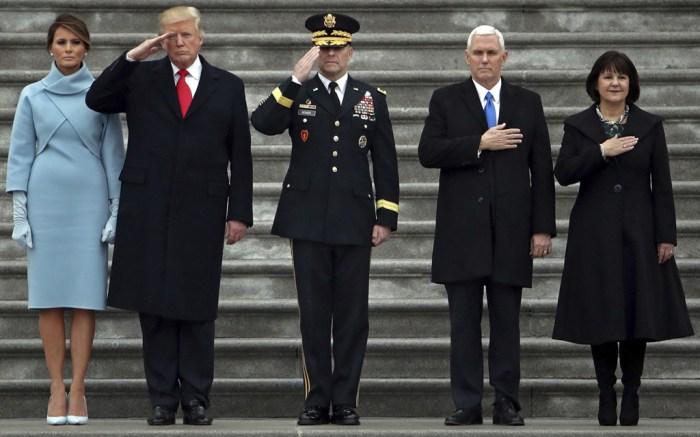 Karen Pence Inauguration Style