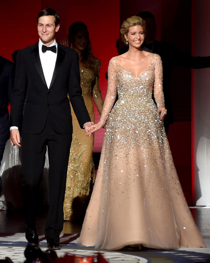 ivanka trump dress inaugural ball