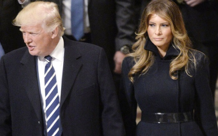 Melania Trump's National Prayer Service Style