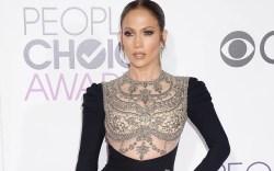 Jennifer lopez peoples choice awards dress