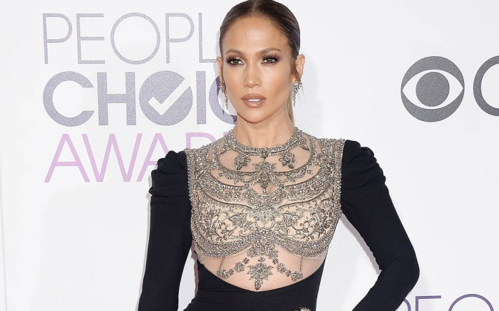 Jennifer lopez peoples choice awards dress