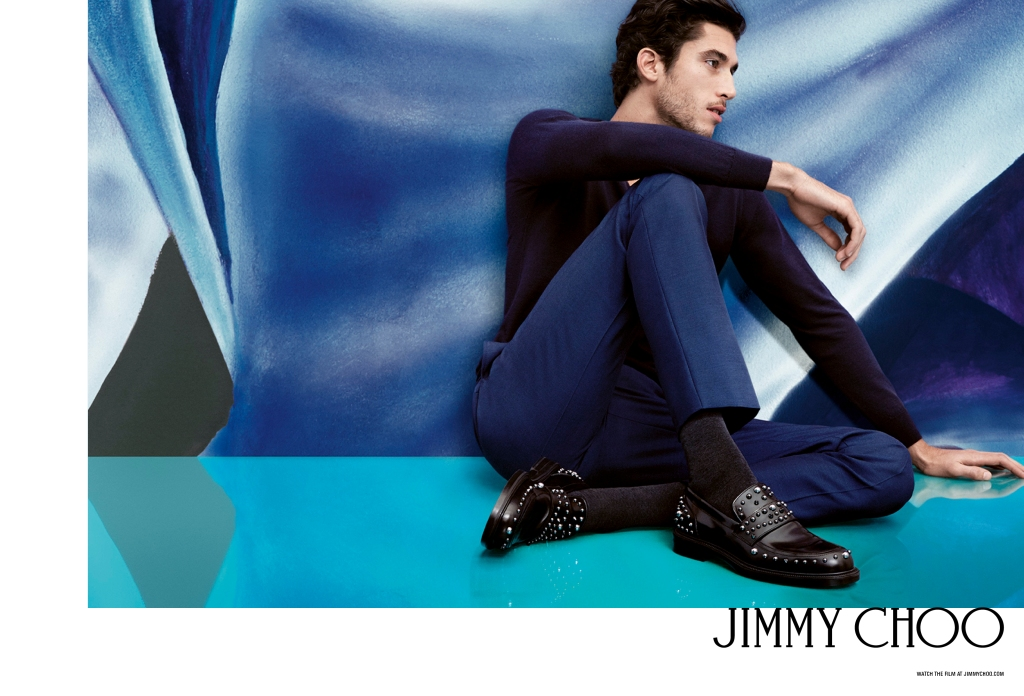 Jimmy Choo Spring 2017 campaign