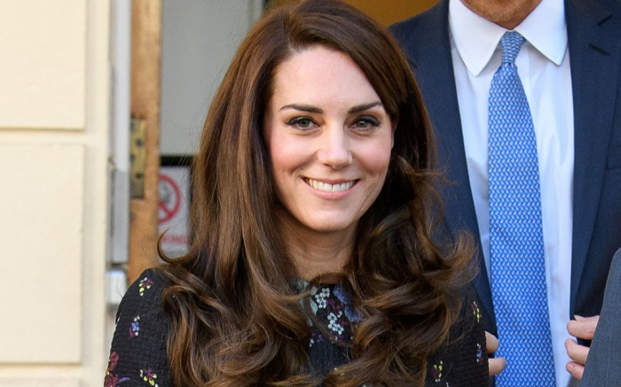 Kate Middleton in Erdem and Tod's