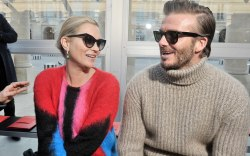 Kate Moss and David Beckham