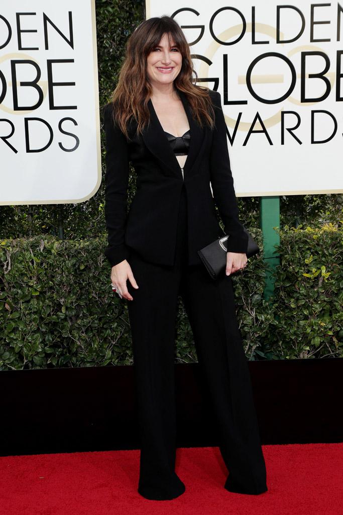 Kathryn Hahn 2017 Golden Globes