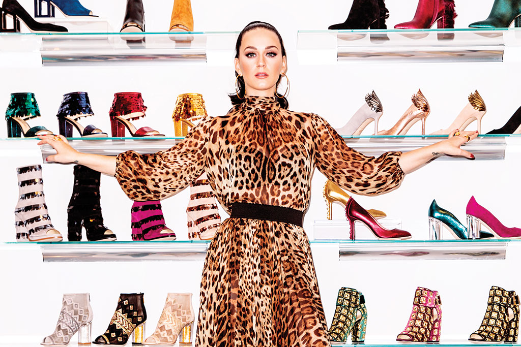 Katy Perry Launches New Shoe Line