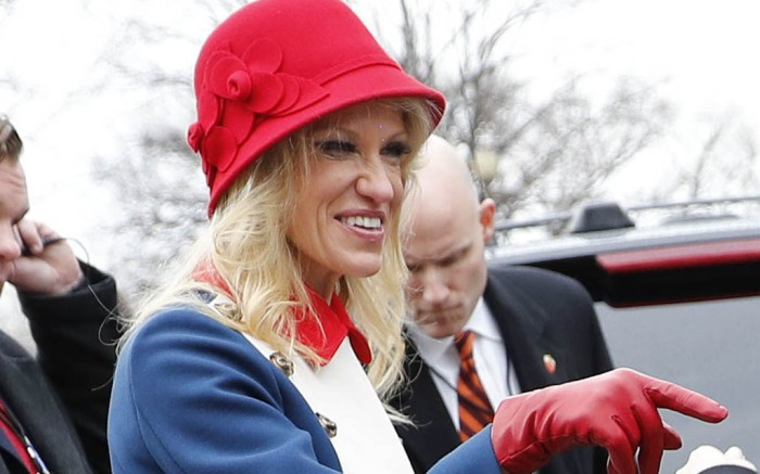 Kellyanne Conway Trump Inauguration