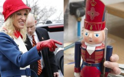 KellyAnne Conway donald Trump Inauguration coat