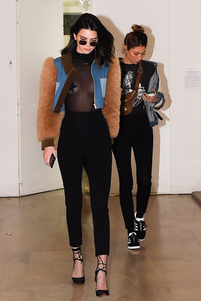 Kendall Jenner Paris Couture Week