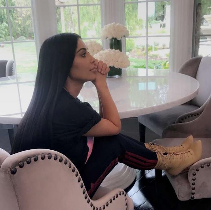 Kim Kardashian West Snapchat