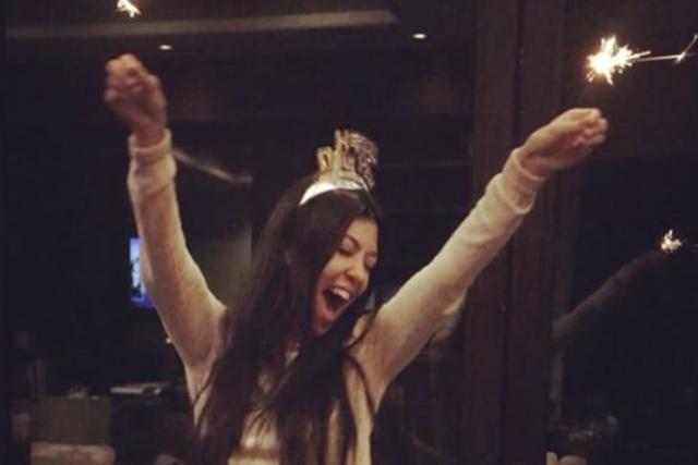 Kourtney Kardashian New Year's Eve