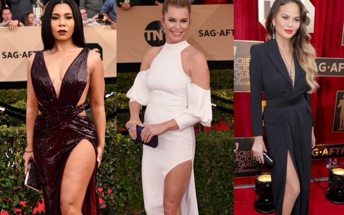 2017 SAG Awards: Lots of Legs