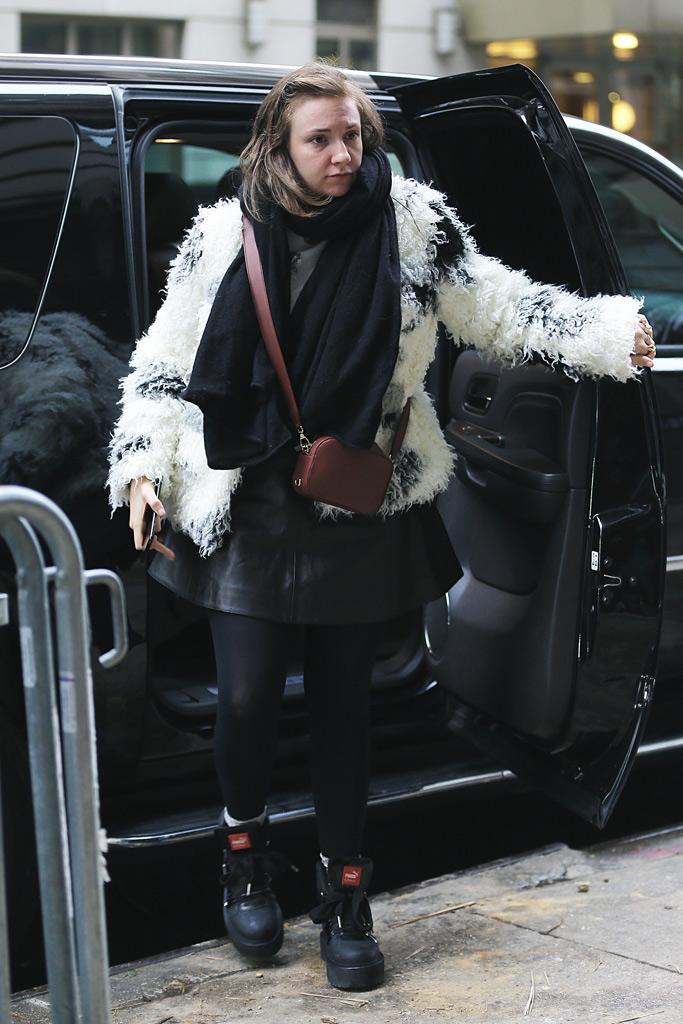 Lena Dunham Fenty Puma Boots