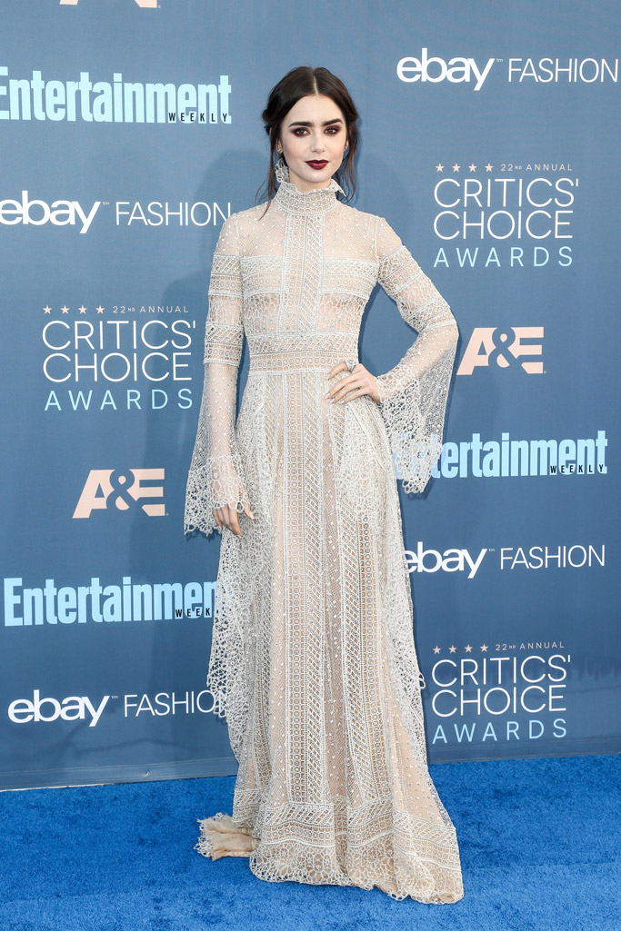 Lily Collins Red Carpet Style
