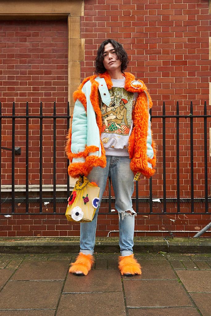 London Men's Fashion Week Fall 2017 Street Style
