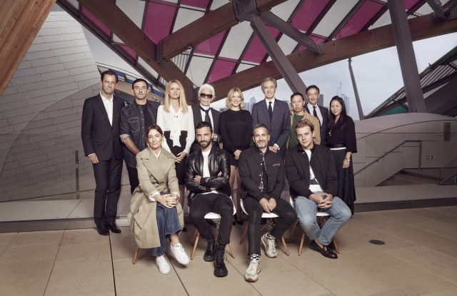 The jury of the LVMH Prize.