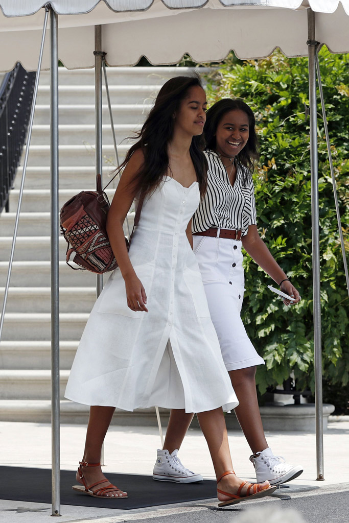 Malia Sasha Obama Style