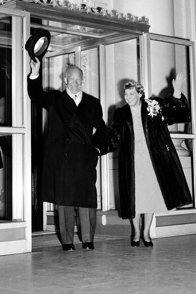 Mamie Eisenhower, Inauguration Day, Style