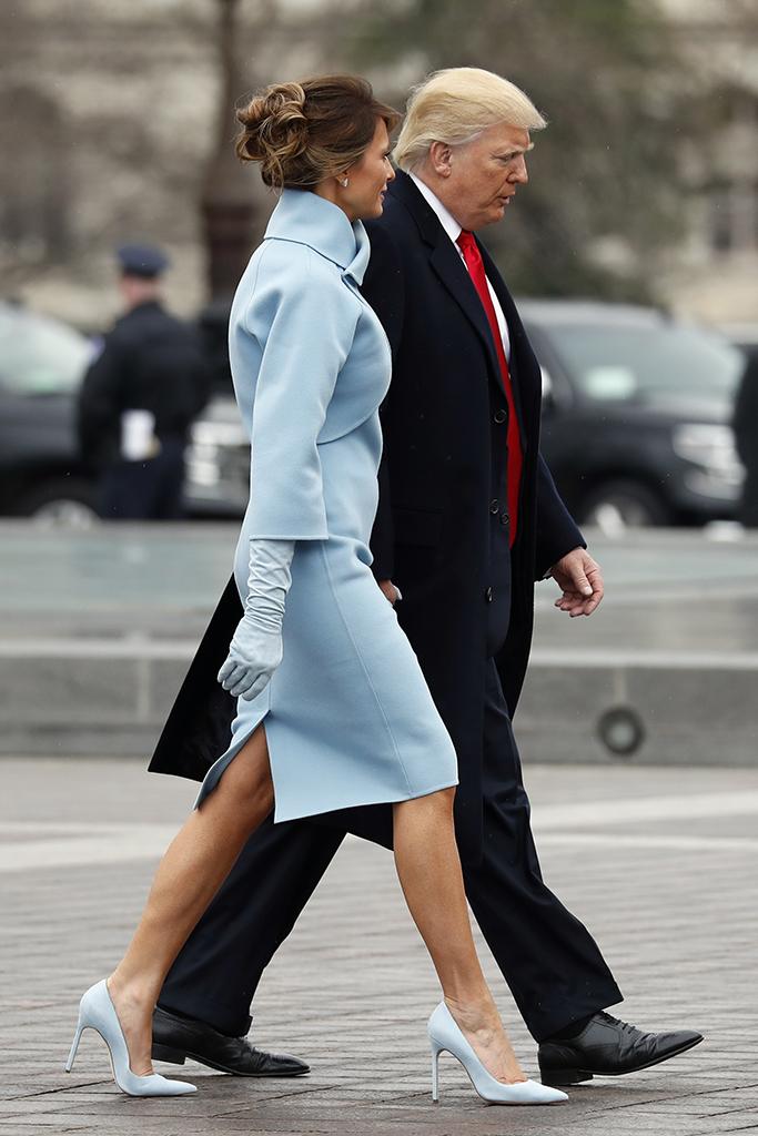 Melania Trump, Inauguration Day, Style
