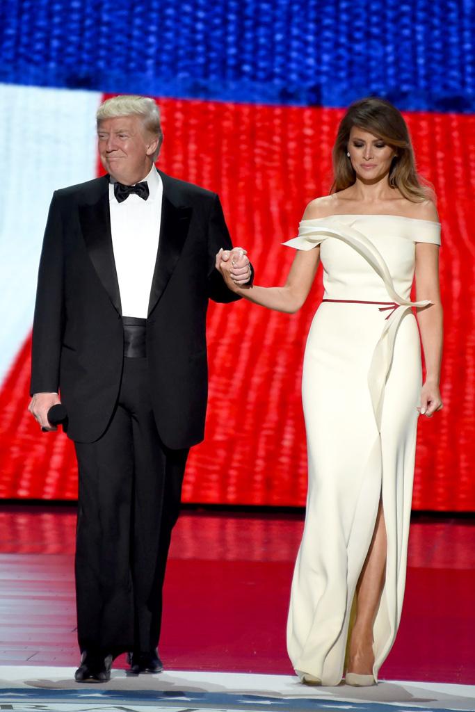 Melania Donald Trump Inauguration