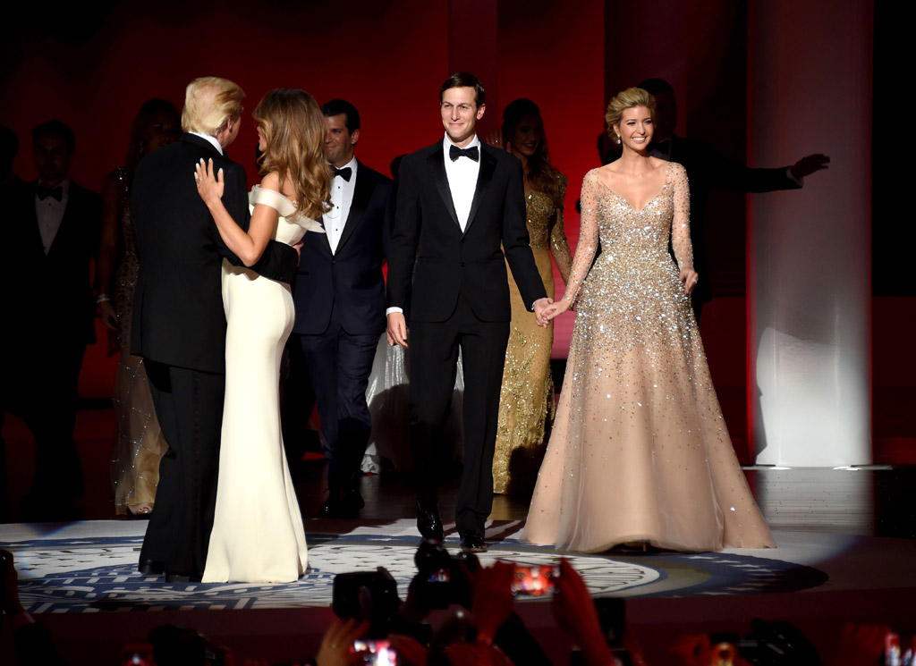 ivanka trump inaugural ball dress