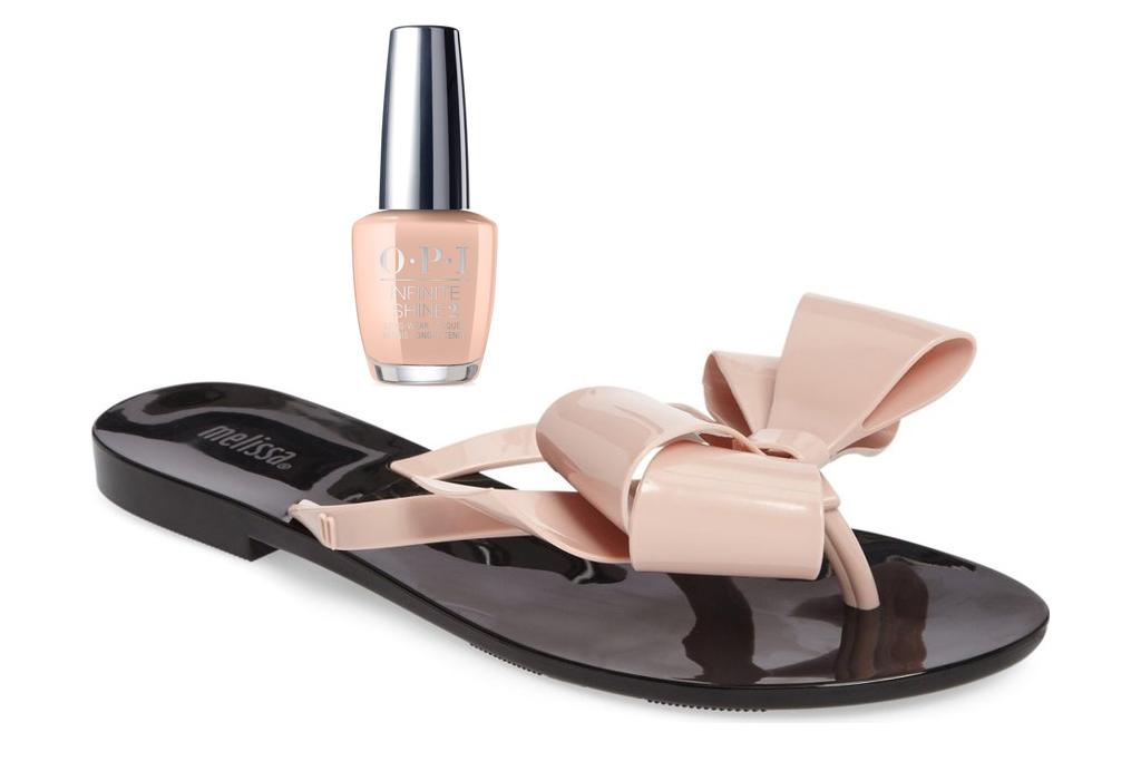 Melissa bow flip-flop