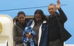 Michelle Obama Malia Obama President Barack