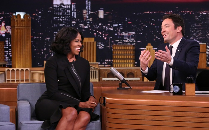 Michelle Obama Jimmy Fallon