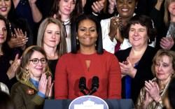 Michelle Obama's Final First Lady Speech