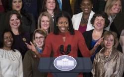 michelle obama final speech dress