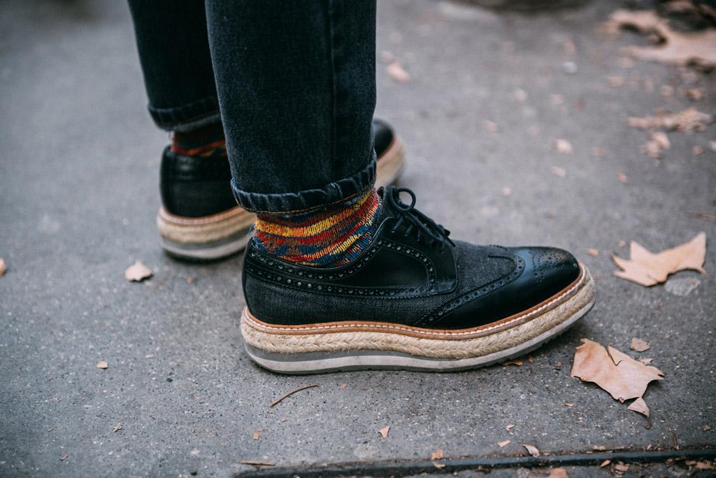 Street Style at Milan Men's Fashion